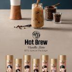 【情報】日本初登場!BTSコーヒー飲料「ホットブリューバニララテ」 12/17(木)より予約販売開始!