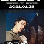 BOBBY(iKON)、ソロ2ndフルアルバム「LUCKY MAN」のポスター公開