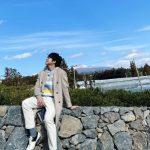 """ソン・シギョン、済州島の青空のもとで休息のひと時…""""ここで暮らしたい"""""""