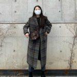 <トレンドブログ>元「Wonder Girls」ソヒ、チェック柄のコートがお似合い…マスクからこぼれる笑顔溢れる近況。