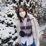 ユナ(少女時代)、真っ白な雪よりも白い肌…「女神降臨」