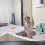 ユルヒ(元LABOUM)の長男ジェユル、すでに4歳…ガールズグループ出身の母にそっくりのダンス
