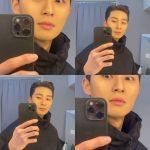 俳優パク・ソジュン、鼻の穴もかっこいいとは!? …どアップにした動画で遊ぶ姿を公開