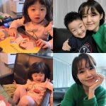 元アナウンサー出身イ・ハジョン、夫チョン・ジュノにそっくりな子どもたちと韓国語勉強の日常