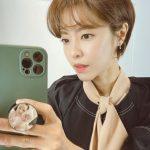 女優イ・ユンジ、本当にママ?陶器のような肌で滑りそう