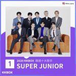 「SUPER JUNIOR」、台湾最大の音楽サイトが選ぶ「2020年のアーティスト」1位に