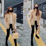 女優イ・シヨン、今日もブランドバックは必須…道端で輝く優雅なファッション