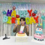 """<span class=""""title"""">ユン・ジソン、誕生日祝いに感謝...""""受けた愛をさらにお返しする1年に""""</span>"""