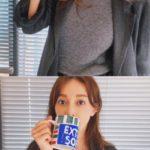 """<span class=""""title"""">伊藤ゆみ(アユミ/ICONIQ)、マグカップで隠れる小顔で近況を公開=ファンは""""ビックリ""""</span>"""
