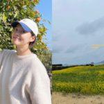 """<span class=""""title"""">女優ハン・ジヘ、結婚10年ぶりの妊娠で胎教の日常…週末のお出かけ</span>"""