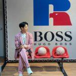 """<span class=""""title"""">「SHINee」ミンホ、ピンクのスーツもよく似合う素敵な横顔</span>"""