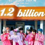 "<span class=""title"">【公式】BTS(防弾少年団)、「Boy With Luv(Feat. Halsey)」MV 12億再生突破!「DNA」に続く通算2本目の12億再生保有</span>"