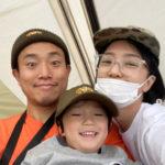 """<span class=""""title"""">歌手ケリ(Leessang)、家族と行った幸せな春のキャンピング…笑顔いっぱい</span>"""
