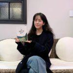 "<span class=""title"">女優ハン・ジミン、素顔でも輝く美貌…オーディオブックの録音現場を公開</span>"