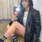 """<span class=""""title"""">女優チョン・ユミ、恋人KANGTAに会いに行くのかな?…ラブリー×シックなファッション</span>"""