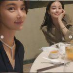 """<span class=""""title"""">女優ファン・ジョンウム&イ・ジュヨン、元アイドル「Sugar」と「AFTERSCHOOL」の2ショット</span>"""