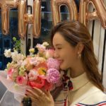 """<span class=""""title"""">女優イ・ダヘ、ひょっとして恋人SE7ENが準備した誕生日パーティー!? …「また一歳年を」と幸せな微笑み</span>"""