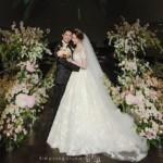 """<span class=""""title"""">オ・ジョンヒョク(Click-B)、結婚式の写真公開、美貌の花嫁を迎えて…「美しく暮らします」</span>"""