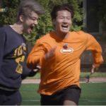 """<span class=""""title"""">「バラコラ」""""ランニングマン""""キム・ジョングク、チャ・ウヌに短距離走で惜敗! 親友チャ・テヒョン&チャン・ヒョクにもトークでは完敗!?</span>"""