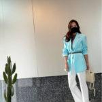 "<span class=""title"">事業家ペク・ジョンウォンの妻で女優ソ・ユジン、長い長い脚</span>"