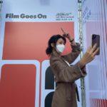 "<span class=""title"">「少女時代」スヨン、全州映画祭に参加して認証ショット!</span>"