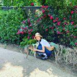 "<span class=""title"">女優コン・ヒョジン、愛犬と散歩する穏やかな日常</span>"