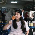 """<span class=""""title"""">女優ハン・ジミン、串トッポッキを食べるナチュラルな姿まで美しい</span>"""