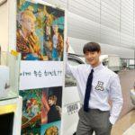 """<span class=""""title"""">【トピック】「SHINee」ミンホ、""""軍入隊""""テミンからの差し入れに感動</span>"""