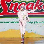"<span class=""title"">【フォト】歌手ハ・ソンウン、5thミニアルバム「Sneakers」発売記念ショーケースを開催</span>"