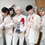 """<span class=""""title"""">「TOMORROW X TOGETHER(TXT)」、「M COUNTDOWN」1位で3冠王...「貴重な賞をくれたファンに感謝」</span>"""