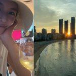 "<span class=""title"">女優ファン・ジョンウム、夫と復縁後の近況を公開…釜山でのリラックスしたひと時</span>"