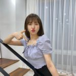 """<span class=""""title"""">「Red Velvet」ウェンディ、かわいいブラウスを着て妖精ビジュアル</span>"""