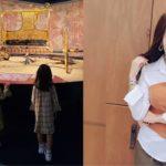 """<span class=""""title"""">女優ソ・ユジン、子どもと一緒のミレニアムホールで輝く美貌</span>"""