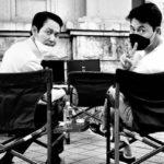 """<span class=""""title"""">俳優チョン・ウソン&イ・ジョンジェ、モノクロの仲良しツーショット</span>"""