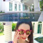 """<span class=""""title"""">タイ財閥と結婚した女優シン・ジュア、「49億ウォン」宮殿のような自宅公開…庭園もキックボードで</span>"""